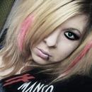 blond + pink