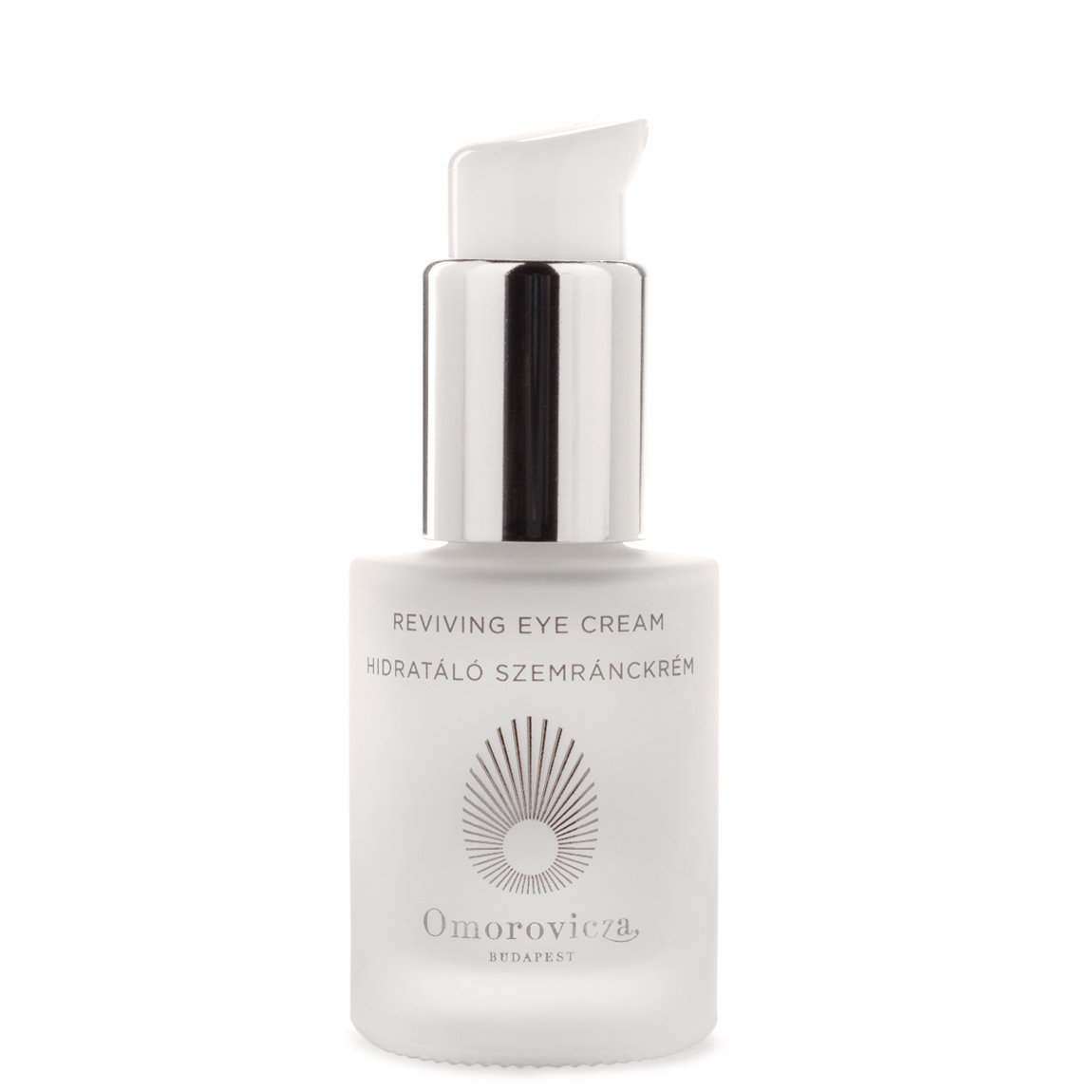 Omorovicza Reviving Eye Cream product swatch.
