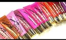 LA Girl Lip Glazes!! First Impressions, Lip Swatches and Review!
