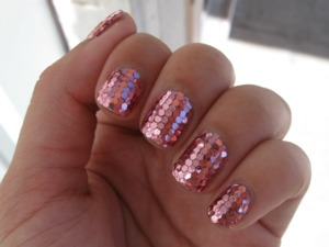Didn't take as long as I thought it would. Glitter from bornprettystore.com Photo in shade.