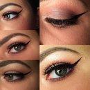 Day to night eyes makeup