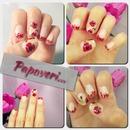 Poppy nailart