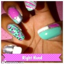 Nails LAST WEEK (RIGHT Hand)