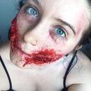 Chelsea Smile Zombie Makeup (Part 3)