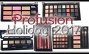 Profusion Holiday 2017 Collection Review & Swatches