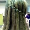 Waterfall Twist braid