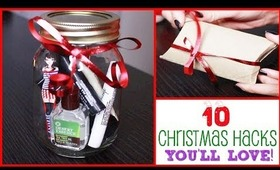 10 Christmas Hacks You'll Love!