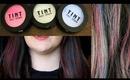Hair Chalking Tutorial (TINT Hair Chalk Demo) | OliviaMakeupChannel