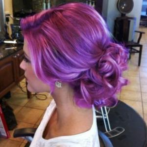 purple hair :)