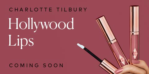 Charlotte Tilbury's Hollywood Lips Collection is coming soon! Sign up now!