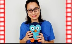 How To Crochet Amigurumi Owl | Part 3
