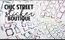 CHIC STREET STICKER BOUTQUE HAUL