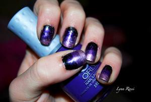 Purple Sparkle Ombre-ish?