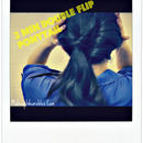 Super Easy & Fast, 3 Min Double Inverted Ponytail Hairstyle for School /Work Tutorial!