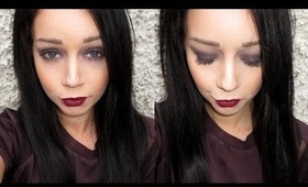Winter Makeup | Dark Eyes & Lips