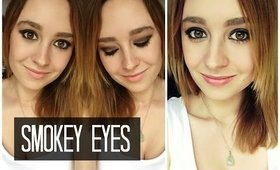 How To: Smokey Eyes | For Beginners | quick & easy