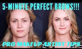 5 Minute Perfect Brow Tutorial | mathias4makeup