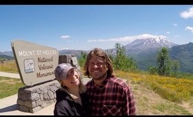 Truck Camper Life: Ep 14   Back in our Home State & Mt. St. Helens