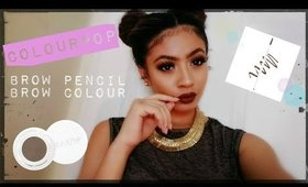 Colourpop Brow Pencil & Brow Colour: Review/Demo/Swatches/Wear Test