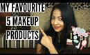 5 FAVOURITE Summer/Monsoon Makeup Products | Stacey Castanha | Indian Beauty Blogger