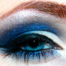 Blue and Smoky Eyeshadow