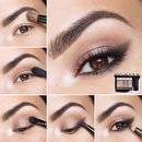 Eyeshadow for brown eyes :)