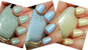 Zoya Lovely Collection 2013 Cremes