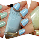 Quick swatches of Neely, Blu and Jacqueline by Zoya