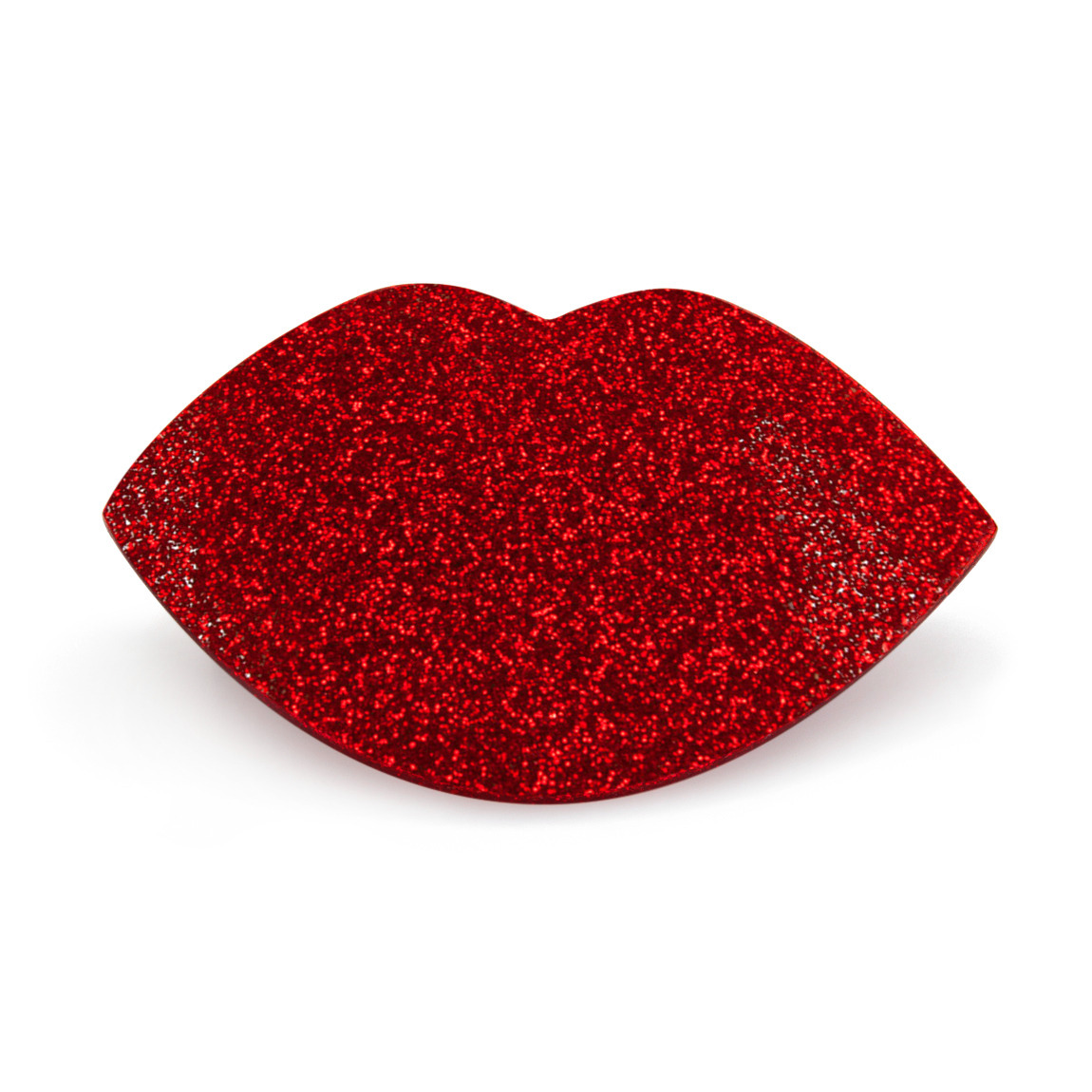Paw Palette Regular Red Glitter Smooches product swatch.