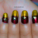 Gold Star Nails