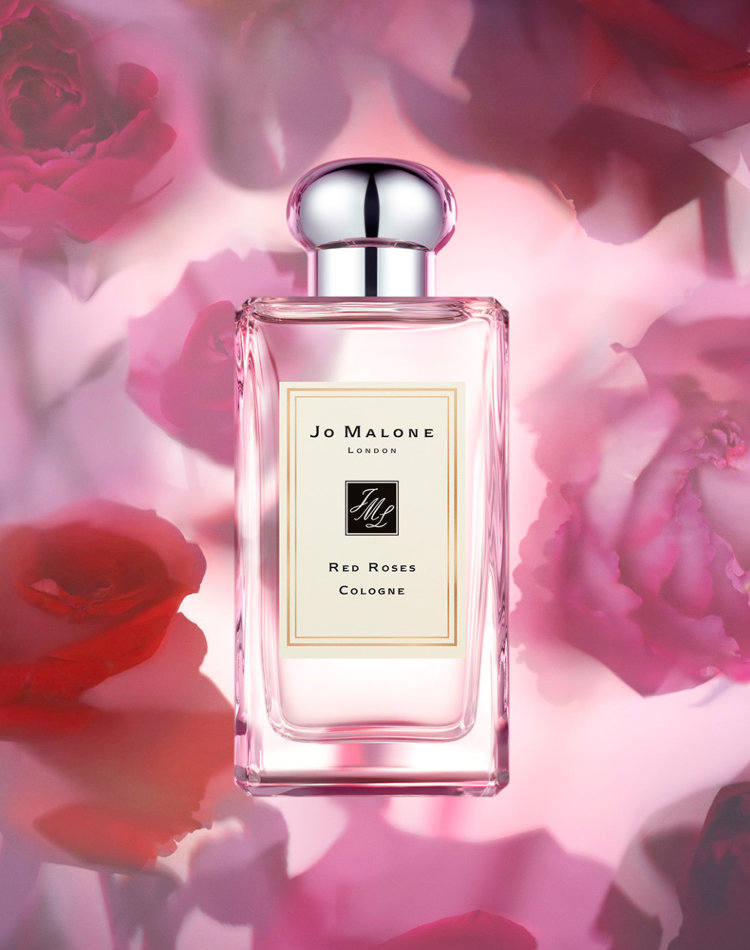 Alternate product image for Red Roses Cologne shown with the description.
