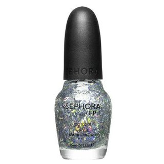 SEPHORA by OPI Sparkle Me Silver Top Coat