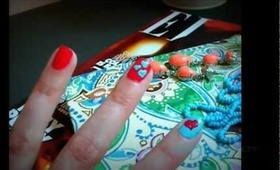 i love lucy nails