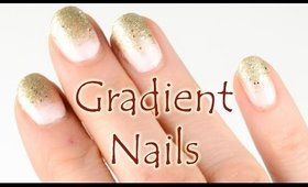 Glittery Nail Tips
