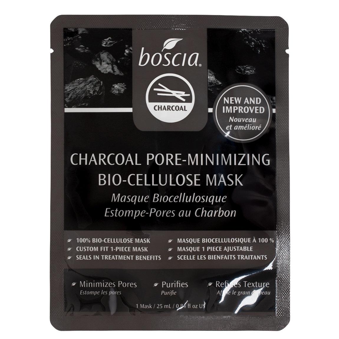 boscia Charcoal Pore Minimizing Bio-Cellulose Mask product swatch.