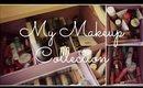 My Makeup Collection/ Vanity Tour!