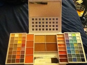 I got a huge elf palette from target today for only 20 bucks. So excited to use it!
