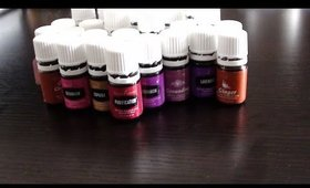 My Young living Essential oil collection