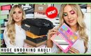 unboxing NEW MAKEUP! 😍 beauty, cosmetics, workout gear & more! 💕 PR HAUL