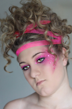 hair, make up and photography by me!