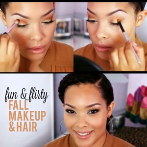 Fall Hair & Makeup Tutorial on youtube.com/bbeautymarkd