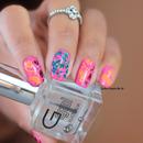 Nail Art Flores Secas