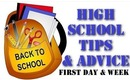 First Day of High School - School Tips