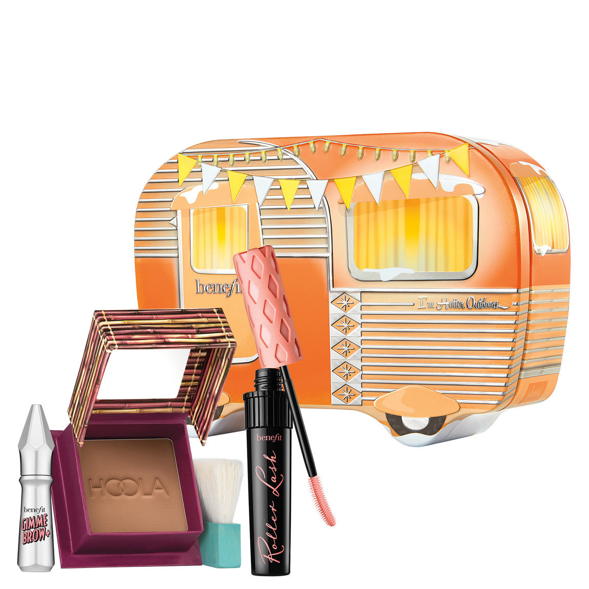 Benefit Cosmetics I'm Hotter Outdoors product swatch.