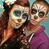 Sugar Skull makeup! :)