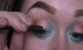 Pop of Colour Smokey Eye (Drugstore Makeup Tutorial)