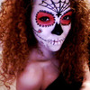 Halloween look. (Skull) 2