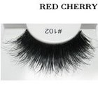 Red Cherry False Eyelashes #102
