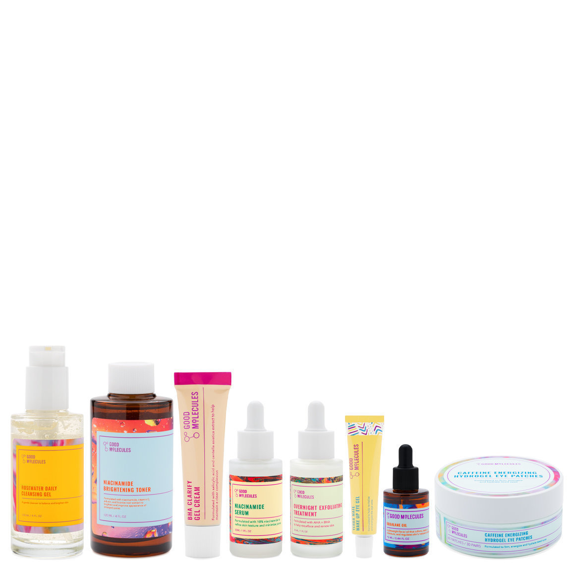Good Molecules The Hero Regimen for Oily Skin alternative view 1 - product swatch.