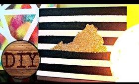 DIY Glitter Wall Art: JESOBSESSED